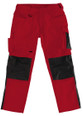 Fantastic Quality Work Trouser in Red/Black