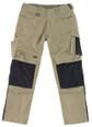 Fantastic Quality Work Trouser in Khaki/Black