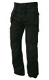 Merlin Tradesman Work Trouser, Multi Functional Hard Wearing Trouser - Black