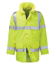 Hi Viz Motorway Jacket, An Everyday Essential - Can be Heatsealed to Enhance your Company Image