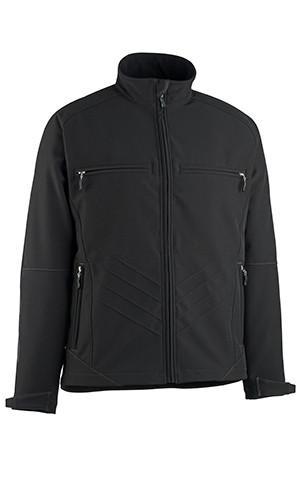 Dresden Sofshell Jacket In Black