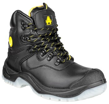 Amblers FS198 Waterproof Safety Boots Black