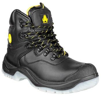 Amblers FS198 Waterproof Safety Boots Black
