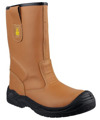 Amblers FS142 S3 Lined Safety Rigger Boots