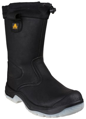 Amblers FS209 Tie Top Safety Rigger Boots