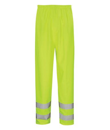 Hydraflex Hi Viz Waterproof & Breathable Overtrousers - Yellow