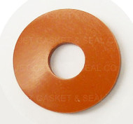 1/3 ID X 1 OD X 1/8 TH RED SILICONE GROLSCH SWING TOP GASKET
