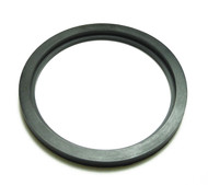 "Flanged DN63 (2.5"") Style Gasket for Racking Arms Black EPDM"