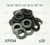 Jet Home Brewing Supply Beer Nut Coupling Washer Pack of 25
