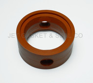"Butterfly Valve Seat 1-1/2"" Silicone Compatible with GW Kent Econo Donjoy 1.5"