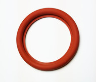 11851 GASKET DN100 FLANGED SILICONE