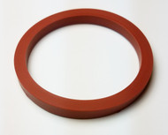 "SMS DN25 GASKET 1"" ID SILICONE"