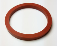 "SMS DN76 GASKET 3"" ID SILICONE"