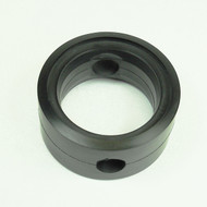 """Butterfly Valve Seat 2"""" DN50 Black EPDM Compatible with Tassalini Old Style w/Flats"""