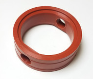 "Butterfly Valve Seat 2"" Orange Silicone LYSF Stainless"