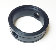 "Butterfly Valve Seat 2"" Black EPDM LYSF Stainless"