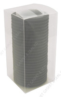 "2"" Black EPDM Tri-Clamp Gasket Box of 25"
