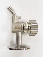 """1"""" & 1-1/2"""" TC Zwickel Sample Valve Metal Faucet Style Bonnet Handle"""