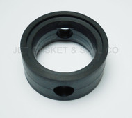 "Butterfly Valve Seat 3"" Black EPDM Compatible with Cipriani-Harrison"