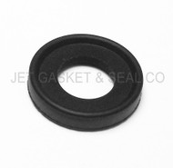 "1/2"" Black EPDM Tri-Clamp Gasket Box of 25"