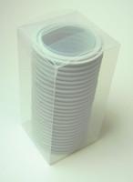 "3"" Grey EPDM Tri-Clamp Gasket Box of 25"