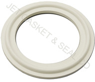 "4"" White Buna Tri-Clamp Gasket"