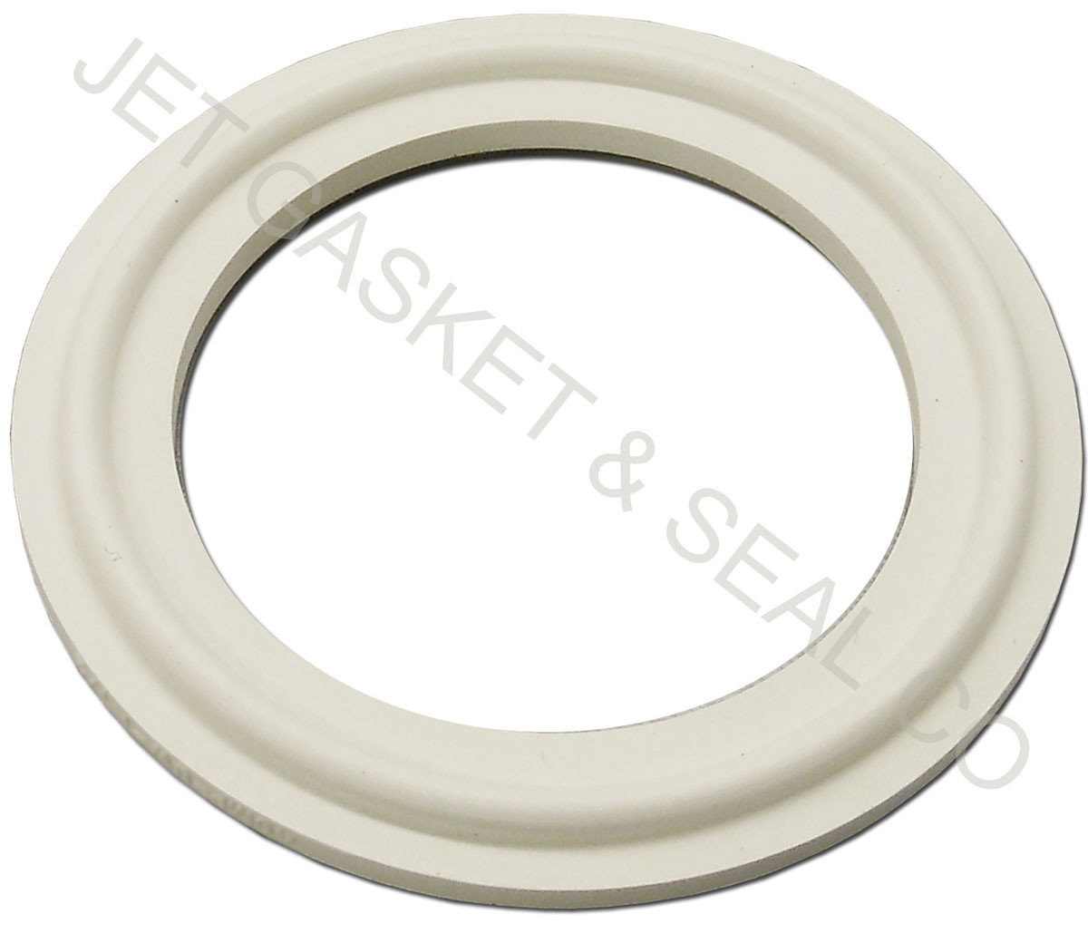 """BOX OF 25 TRI CLOVER GASKETS SILICONE 1 1//2/"""" TC STYLE"""