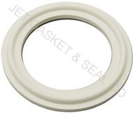 "2.5"" White Silicone Tri-Clamp Gasket"