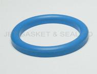 "DIN 11851 DN65 Style Gasket 2-1/2"" Blue Buna"