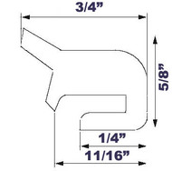 """20"""" Grey EPDM Manway Gasket Compatible with Alfa Laval G&H"""
