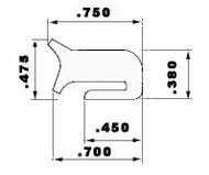 "Zorzini GT/230 8.75"" Grey EPDM Manway Gasket"