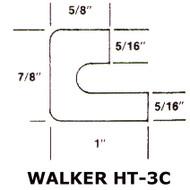 "Walker HT3C 19"" Black Viton Manway Gasket"