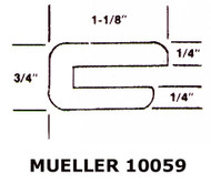 "19.5"" Red Silicone Manway Gasket Compatible with Mueller 10059"