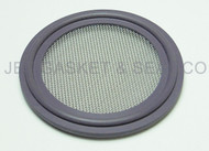 "Tri Clamp Screen Gasket 2"" Purple Viton GF600S 60 Mesh"