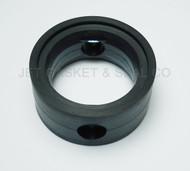"Brewery Gaskets (Metal Handle) Butterfly Valve Seat 1-1/2"" Black EPDM"