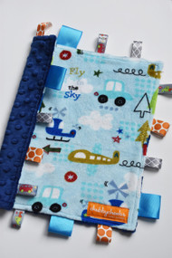 Up in the Air small tag blanket