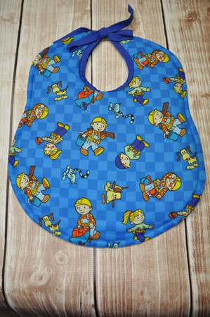 Bob the Builder with tie classic bib.
