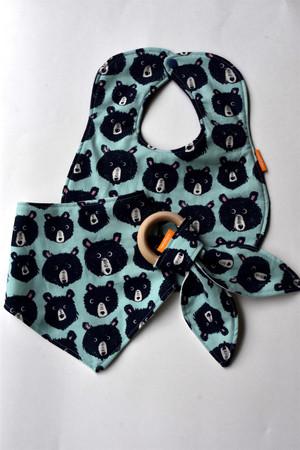 Cozy Blue Teddy's gift set