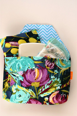 Painted Desert Night diaper-to-go bag