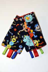 Monster Mash baby carrier drool pads
