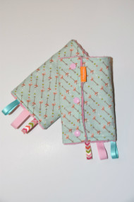 Vintage Arrow baby carrier drool pads