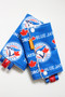 Toronto Blue Jays (Ivory minky) baby carrier drool pads