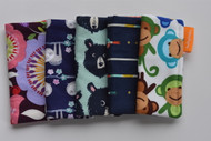 Spring, Sloth, Bear, Arrow and Monkey freezie cozy 5 pack