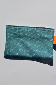Arrows on Teal small snack bag