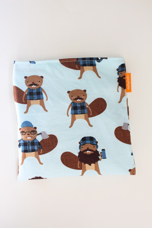 Purely Canadian - Blue Beaver snack bag