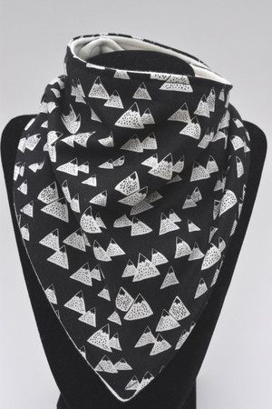 Black Mountains bandana bib with bamboo back