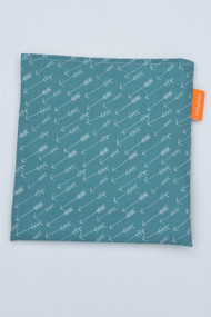 Teal Arrows snack bag