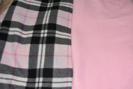 Car Seat Poncho - Pre-order Pink Tartan