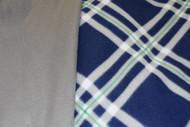 Blue/Grey Plaid