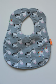 Zebra party classic bib